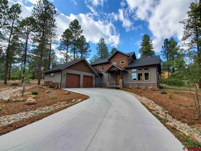 Durango Single Family Home For Sale: 340 Copper Rim Trail