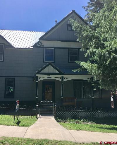 Ouray Single Family Home For Sale: 325 7th Avenue