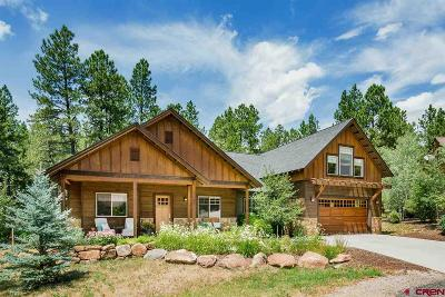 Durango Single Family Home For Sale: 94 Cave Basin Court