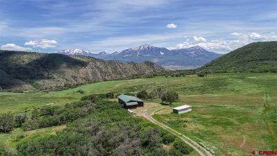 Crawford, Hotchkiss, Paonia Single Family Home For Sale: 38681 & 38685 Stucker Mesa Road