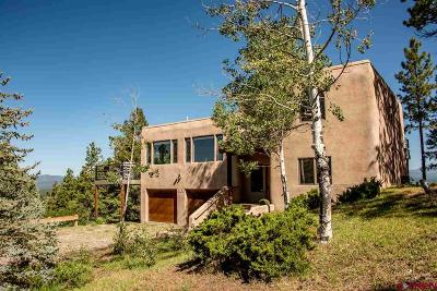 Pagosa Springs Single Family Home For Sale: 128 N Feather Court