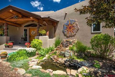 Pagosa Springs Single Family Home UC/Contingent/Call LB: 178 Castle Place