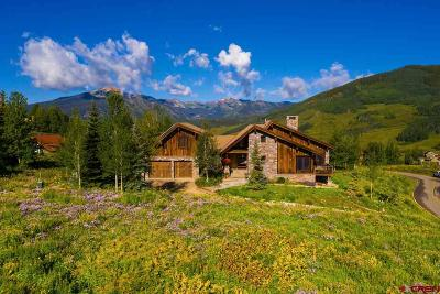 Mt. Crested Butte Single Family Home For Sale: 35 Gold Link Drive