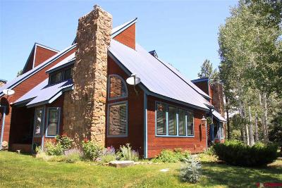 Pagosa Springs Condo/Townhouse For Sale: 175 Wildwood Drive #4