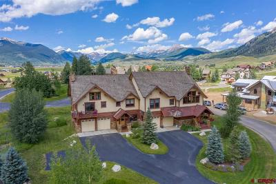 Crested Butte Condo/Townhouse For Sale: 87 Coyote Circle