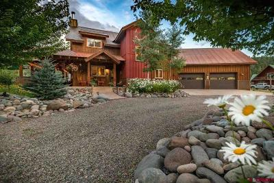Pagosa Springs Single Family Home For Sale: 151 Red Ryder Circle