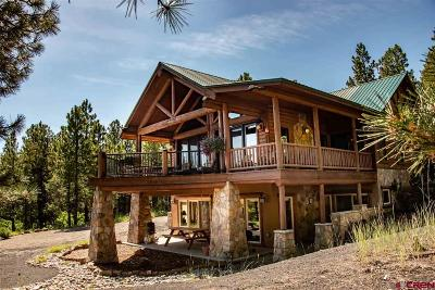 Pagosa Springs Single Family Home UC/Contingent/Call LB: 887 Majestic Drive