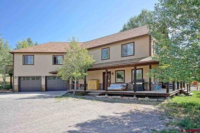 Ridgway Single Family Home For Sale: 600 River Park Drive