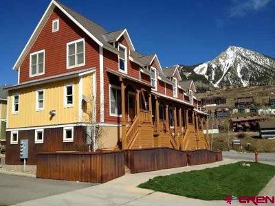 Mt. Crested Butte CO Condo/Townhouse For Sale: $489,000