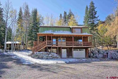 Ouray Single Family Home For Sale: 25 Chipmunk Place
