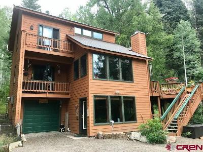 La Plata County Single Family Home For Sale: 268 McCoy Creek