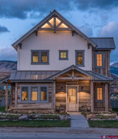 Crested Butte CO Single Family Home For Sale: $3,875,000
