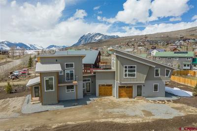 Crested Butte Condo/Townhouse For Sale: 497 Teocalli Road #A