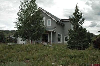 Crested Butte CO Single Family Home For Sale: $748,000