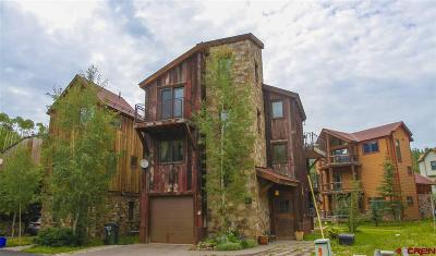 Mountain Village CO Single Family Home For Sale: $875,000