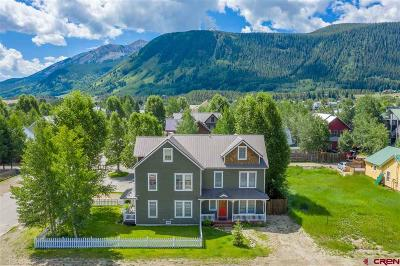 Crested Butte CO Condo/Townhouse For Sale: $900,000