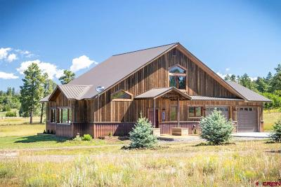Pagosa Springs Single Family Home For Sale: 1434 Meadows Drive