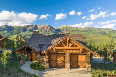 Mt. Crested Butte CO Single Family Home For Sale: $1,425,000