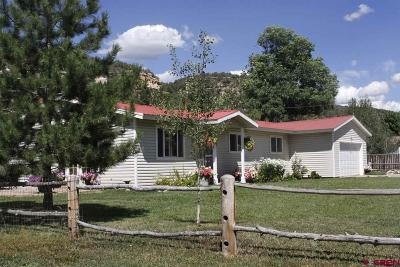 Dolores CO Single Family Home UC/Contingent/Call LB: $279,900