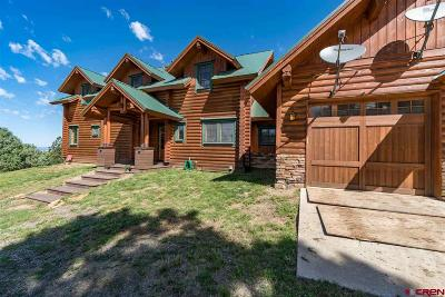 Pagosa Springs Single Family Home For Sale: 3912 Bull Elk Place