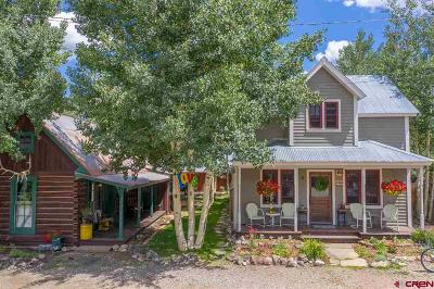 Crested Butte CO Single Family Home For Sale: $2,225,000