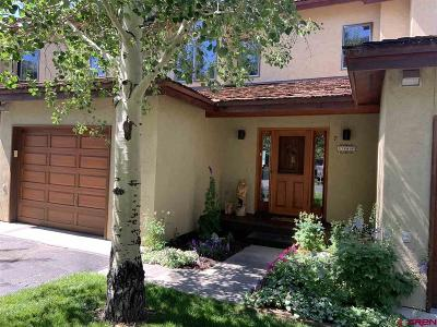 Crested Butte CO Condo/Townhouse For Sale: $769,000