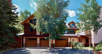 Crested Butte CO Single Family Home For Sale: $4,995,000