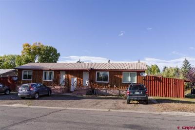 Gunnison Multi Family Home For Sale: 710 W Gothic Avenue