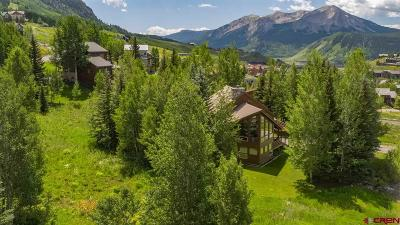 Mt. Crested Butte CO Single Family Home For Sale: $1,265,000
