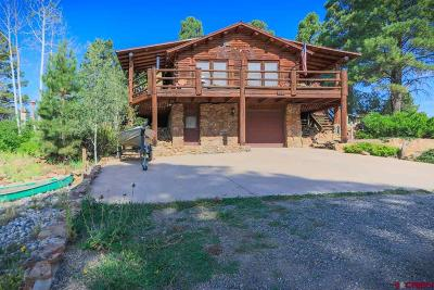 Pagosa Springs Single Family Home UC/Contingent/Call LB: 167 Masters Circle
