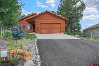 Pagosa Springs Single Family Home For Sale: 23 Fawn Court