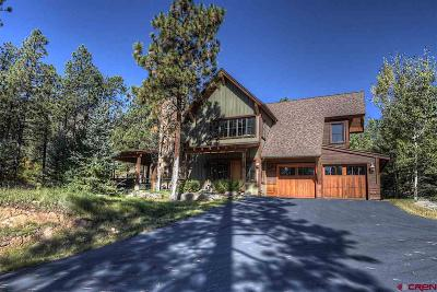 Durango Single Family Home NEW: 90 Hideout Trail #1