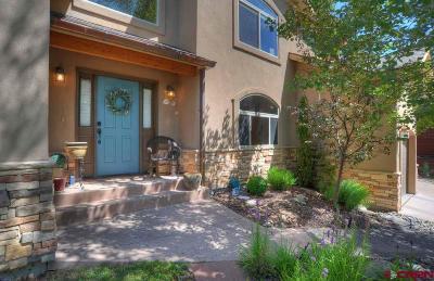 Durango Single Family Home For Sale: 279 El Diente Dr.