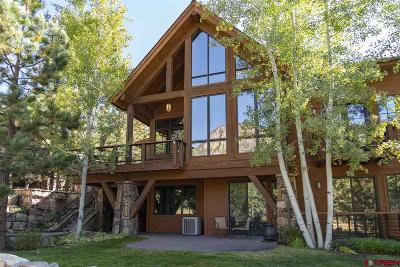 La Plata County Condo/Townhouse For Sale: 665 Glacier Club Drive #Showdown