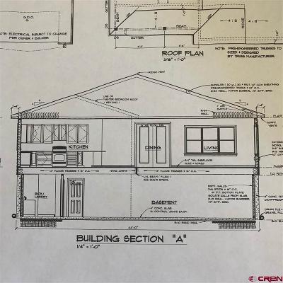 Hotchkiss, Crawford, Paonia Single Family Home NEW: 33 Box Elder Drive