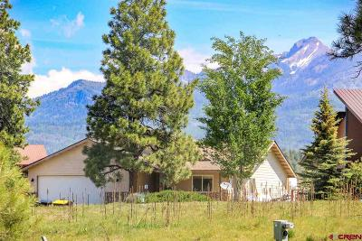 Pagosa Springs Single Family Home For Sale: 50 La Costa Court