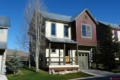 Mt. Crested Butte Single Family Home UC/Contingent/Call LB: 308 Horseshoe Drive