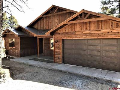 Pagosa Springs Single Family Home UC/Contingent/Call LB: 48 Balfour Court