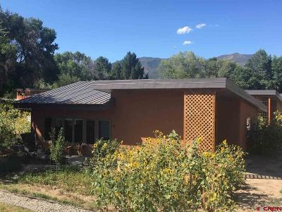 Paonia Single Family Home For Sale: 1200 3rd Street #Unit #4