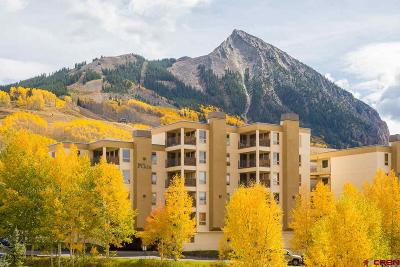 Mt. Crested Butte Condo/Townhouse UC/Contingent/Call LB: 11 Snowmass Road #333