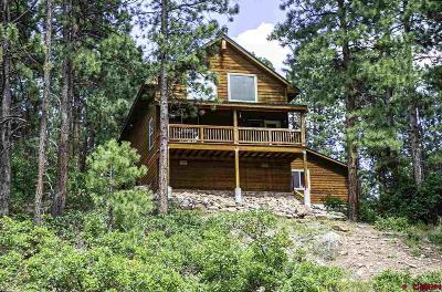 La Plata County Single Family Home For Sale: 80 Ridge Top Drive