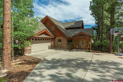 Durango Single Family Home For Sale: 49 Deep Creek Court