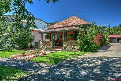 Durango Single Family Home For Sale: 525 E 3rd Street
