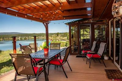 Pagosa Springs Single Family Home For Sale: 15 Shore Ct.