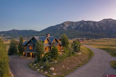 Crested Butte Single Family Home For Sale: 33 Buckhorn Way