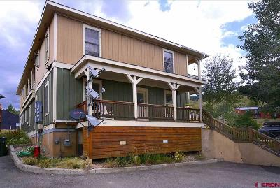 Mt. Crested Butte Condo/Townhouse For Sale: 110 Pitchfork Drive #A