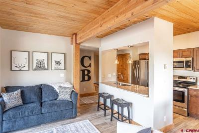 Mt. Crested Butte Condo/Townhouse For Sale: 400 Gothic Road #304