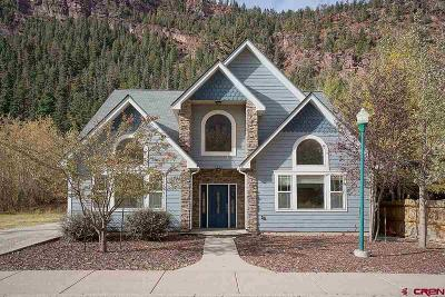 Ouray Single Family Home For Sale: 1610 Oak Street