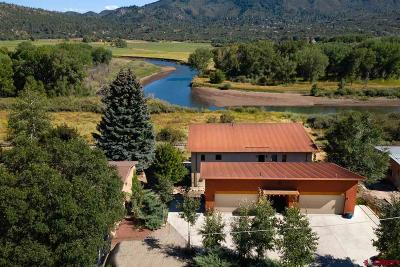 Durango Single Family Home For Sale: 712 Animas View Drive