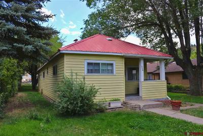 La Plata County Single Family Home UC/Contingent/Call LB: 250 E 7th Avenue
